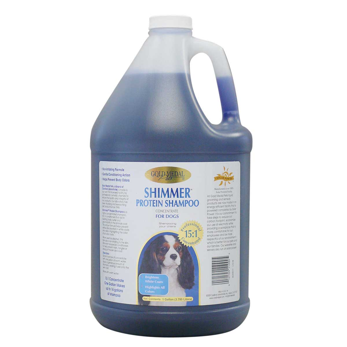Gold Medal Shimmer Protein Shampoo Gallon - 15 to 1