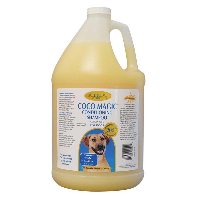Gold Medal Coco Magic Conditioning Shampoo Gallon - 20 to 1