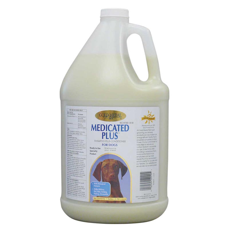 Gold Medal Medicated Plus Shampoo Gallon - 1 to 1