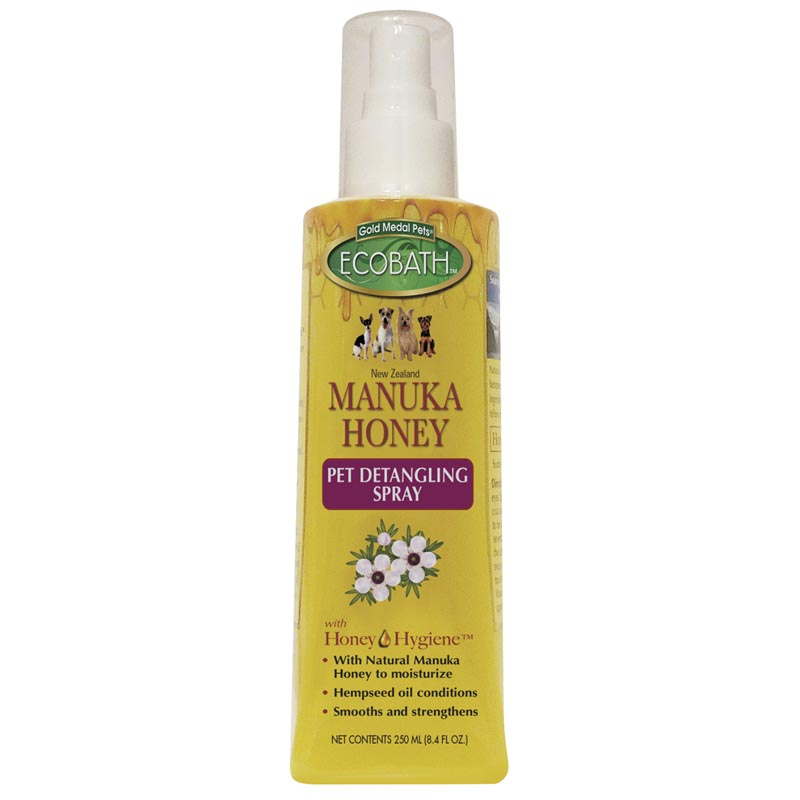 EcoBath Manuka Honey Detangling Grooming Spray 8.4 oz
