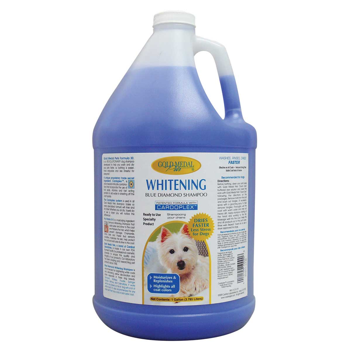 Gold Medal Pets Blue Diamond Shampoo Gallon
