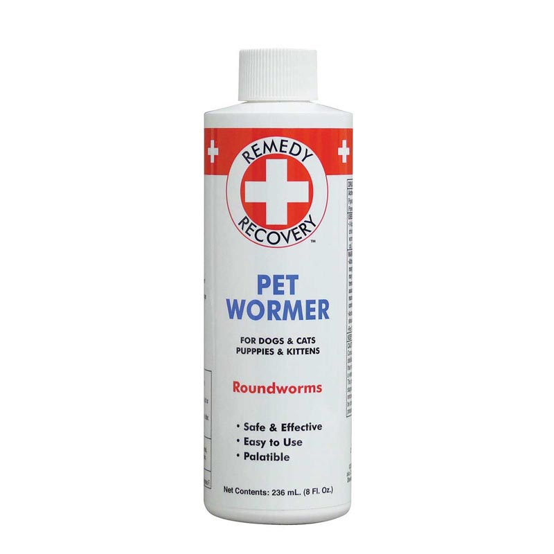 Remedy + Recovery Pet Wormer 8 ounce