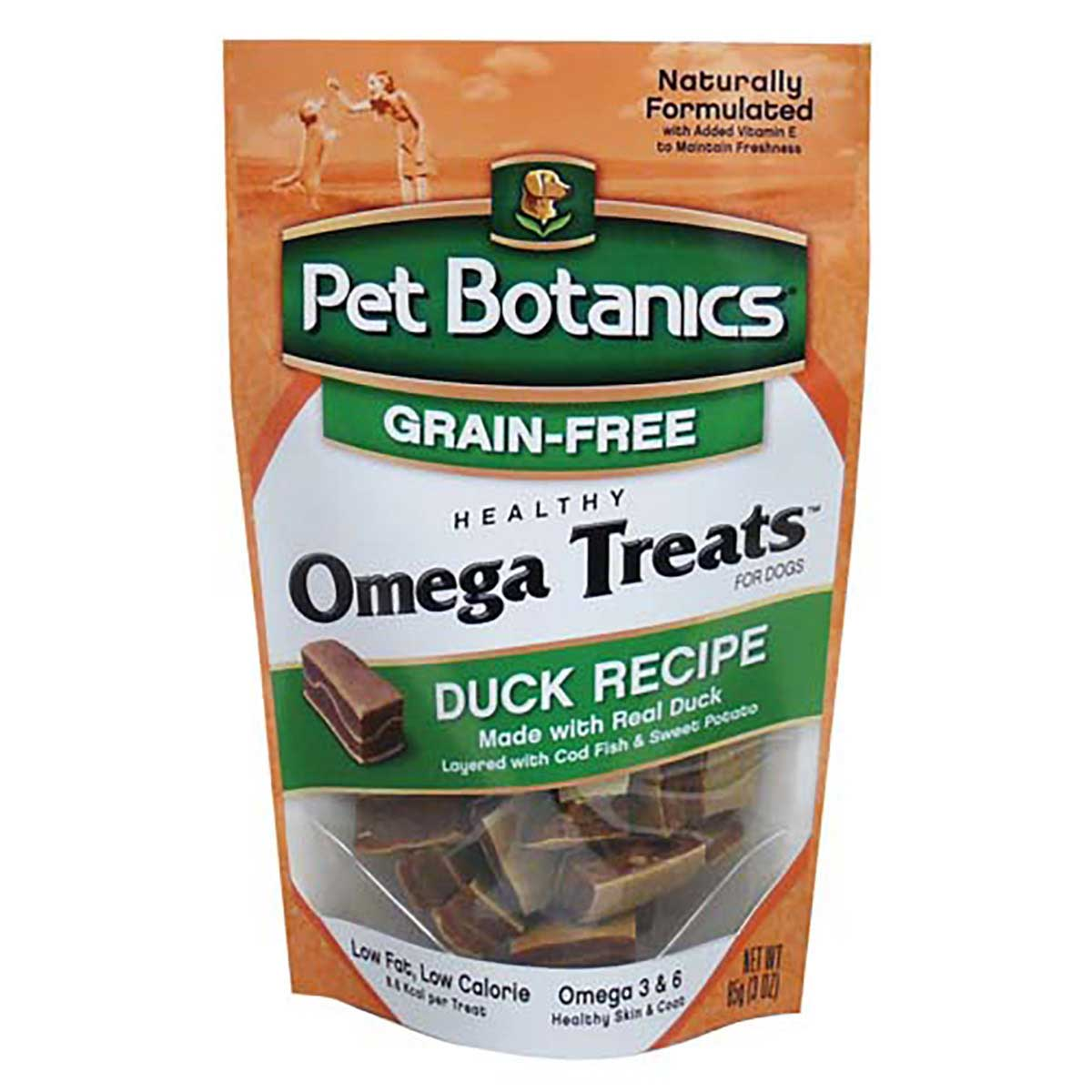 Cardinal Pet Botanics Healthy Omega Treats Duck 3 ounce