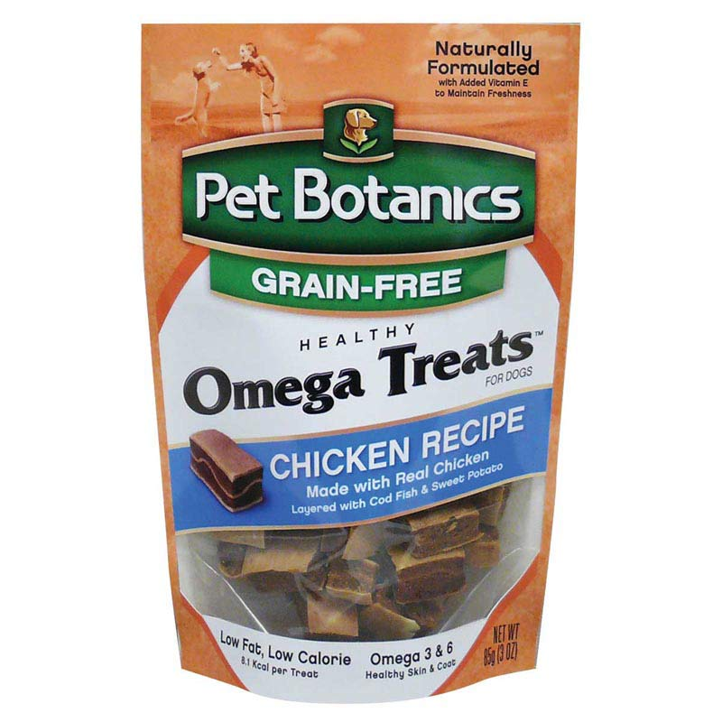Pet Botanics Healthy Omega Treats - Chicken 3 ounce