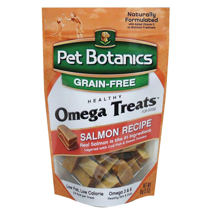Pet Botanics Healthy Omega Salmon Treats 3 ounces