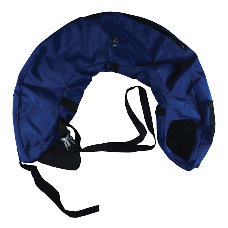 Deflated Medium Calm Paws Inflatable Protective Collar for Dogs