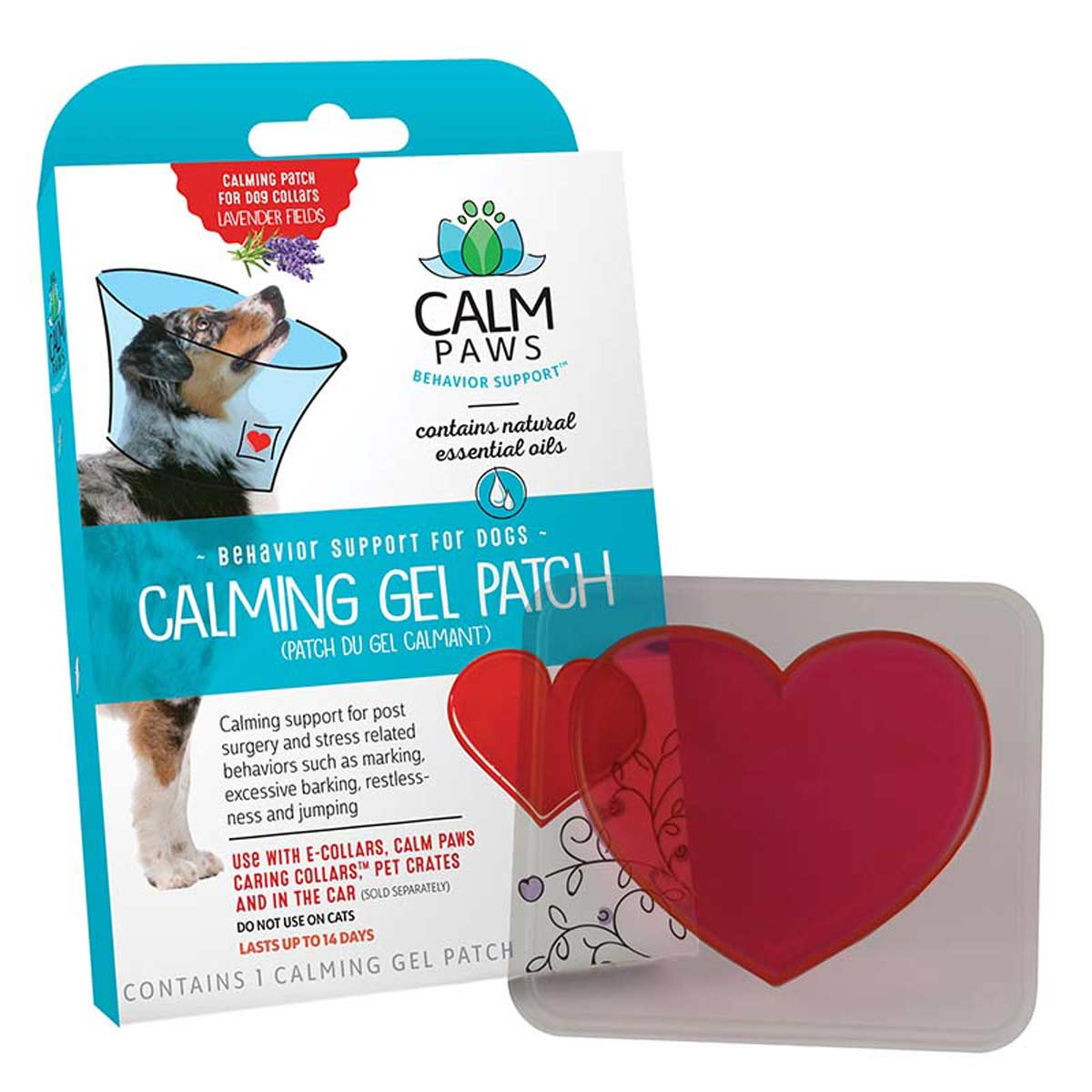 Box of Calm Paws Calming Gel Patch for Dogs