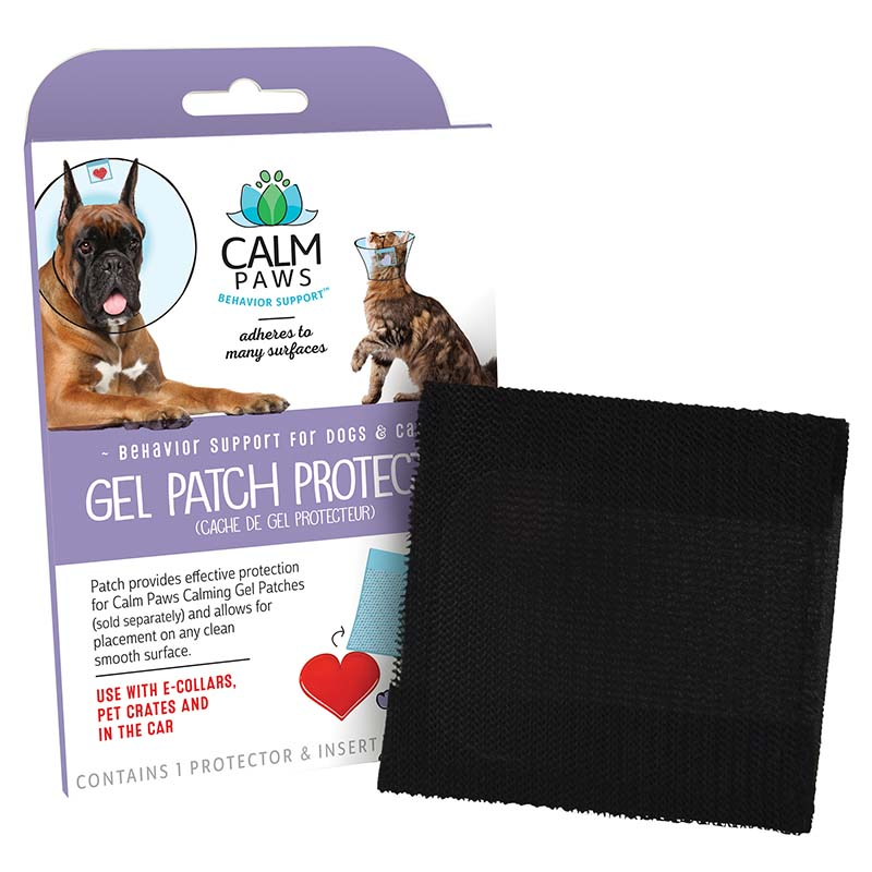 Box for Calm Paws Calming Gel Patch Protector
