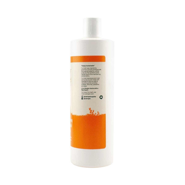 TruCraft Citrus Anti-Itch Oatmeal Pet Shampoo 24:1 16 oz Side Bottle