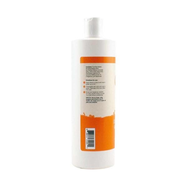 TruCraft Citrus Anti-Itch Oatmeal Pet Shampoo 24:1 16 oz Bottle Ingredients