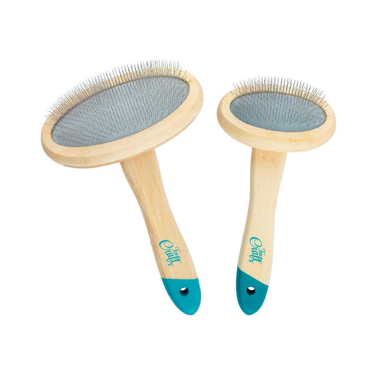 Tru Craft™ Bamboo Slicker Brush Small and Large