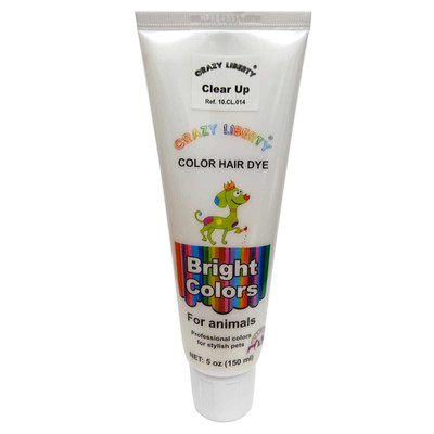Crazy Liberty Pets Hair Dye Clear Up 150ml and other Creative Grooming by brands you can trust at Ryan's Pet Supplies