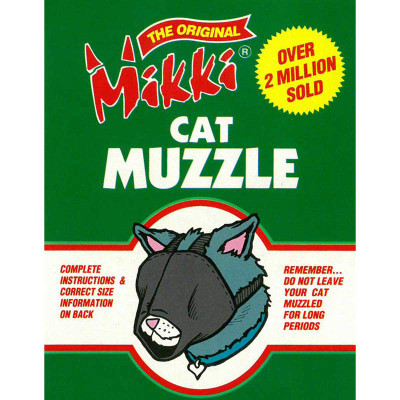 Mikki Cat Muzzle - Size Large at Ryan's Pet Supplies
