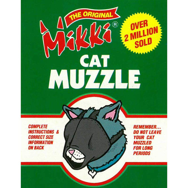 Mikki Cat Muzzle - Size Large at Ryan's Pet Supplies