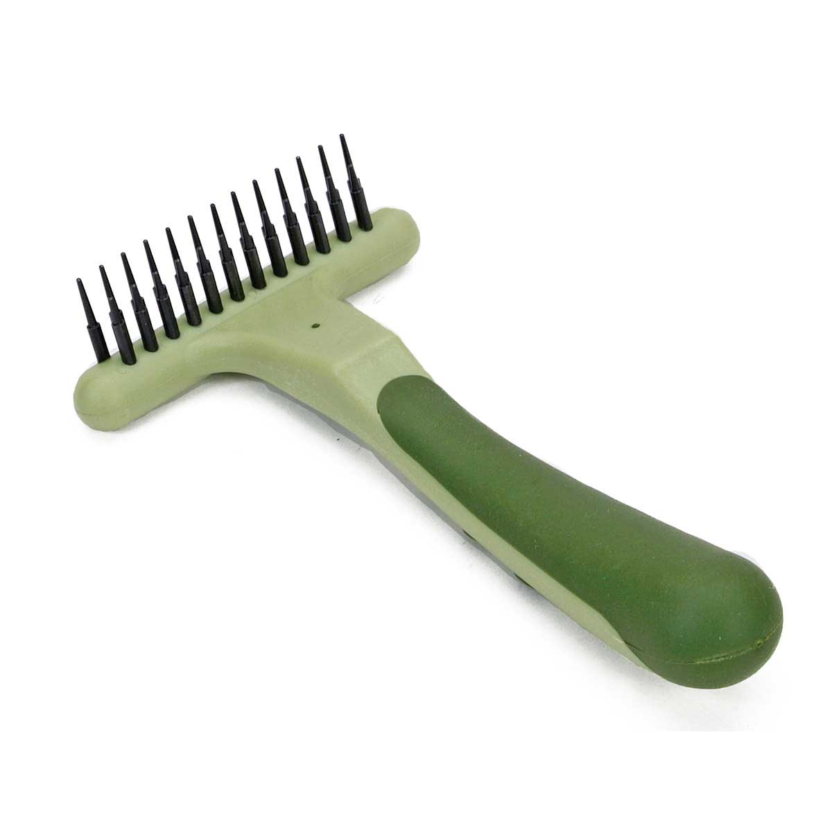 Safari Double Row Undercoat Rake for Pet Grooming