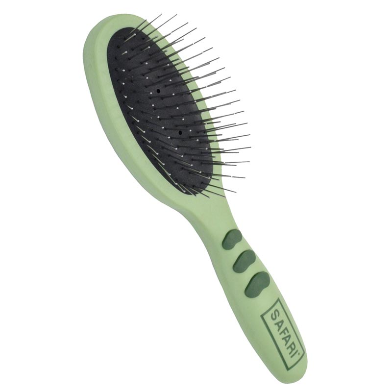 Large Safari High Quality Wire Pin Brush for brushing out fur