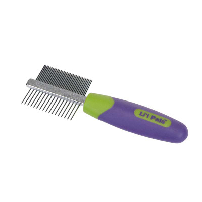 Li'l Pals Double Sided Comb for Grooming Small Dogs at Ryan's Pet Supplies