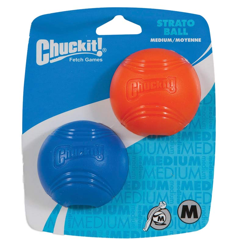 Chuckit! Strato Ball 2 Pack Medium in packaging