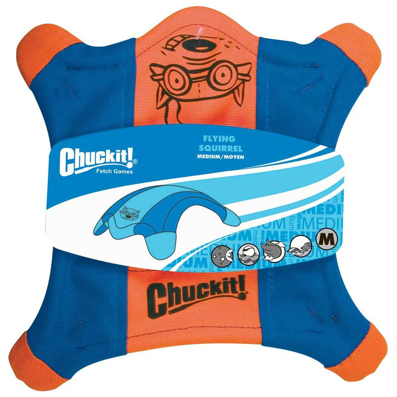 10 inch Chuckit! Flying Squirrel Size Medium