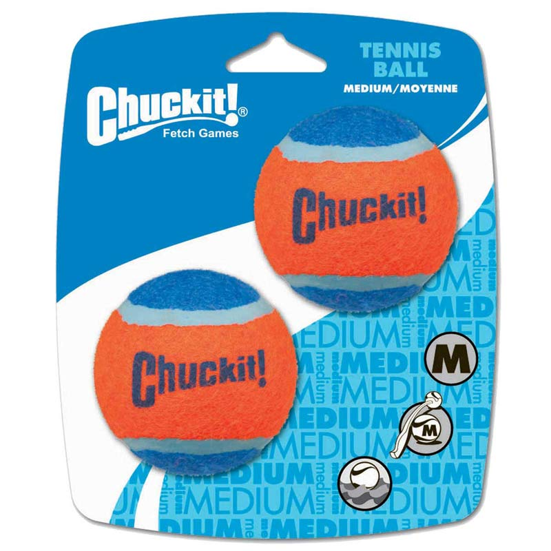 Chuckit! Ball Launchers 2 Pack Med Replacement Balls