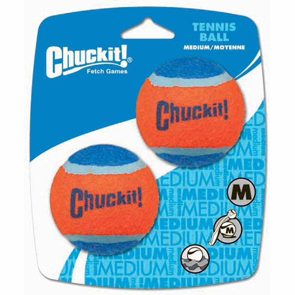 Chuckit! Ball Launchers Medium Replacement Balls 4 Pack