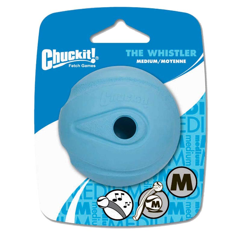 Medium Chuckit! Whistler Ball for Dogs