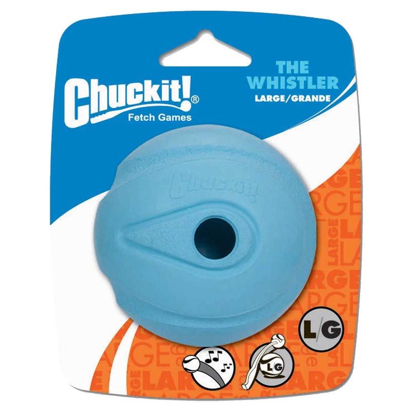 Large Chuckit! Whistler Ball for Big Dogs