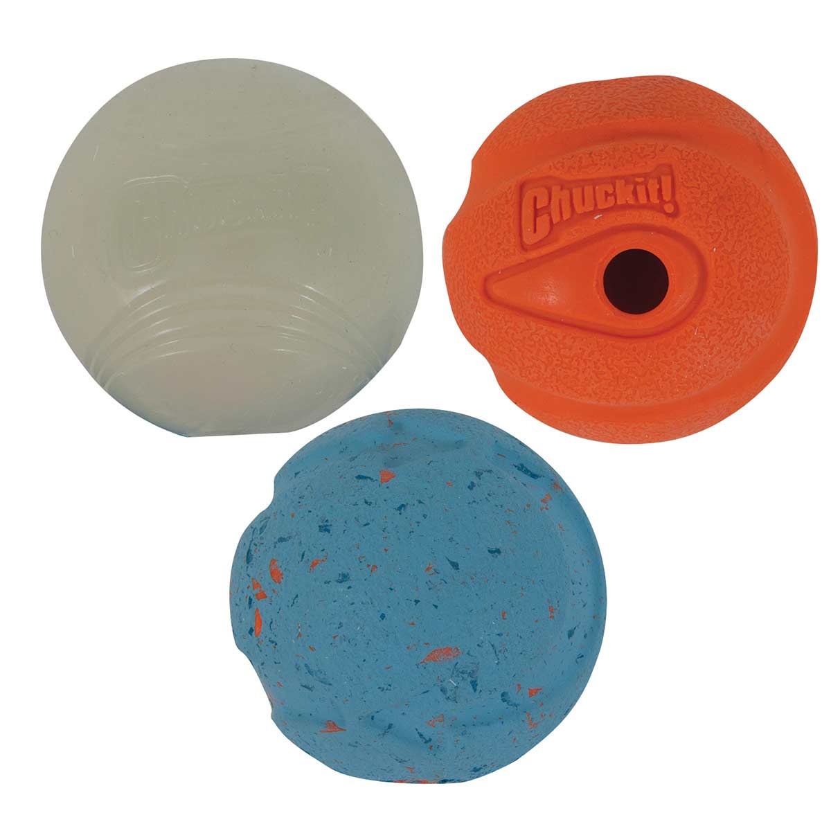 Medium Chuckit! Medley Ball Set for Fetch with Dogs