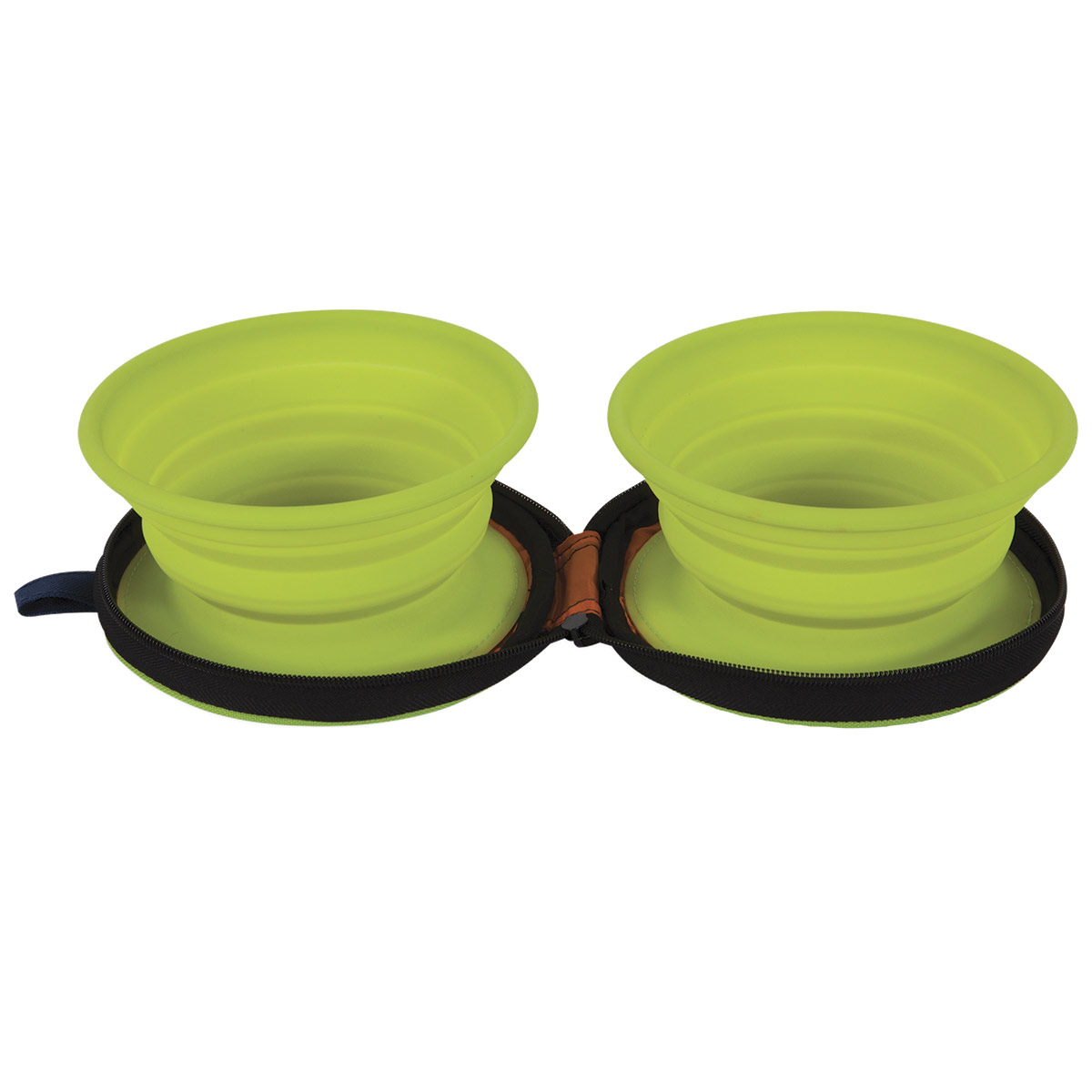 Petmate Silicone Travel Bowl Duo - Holds 3 Cups