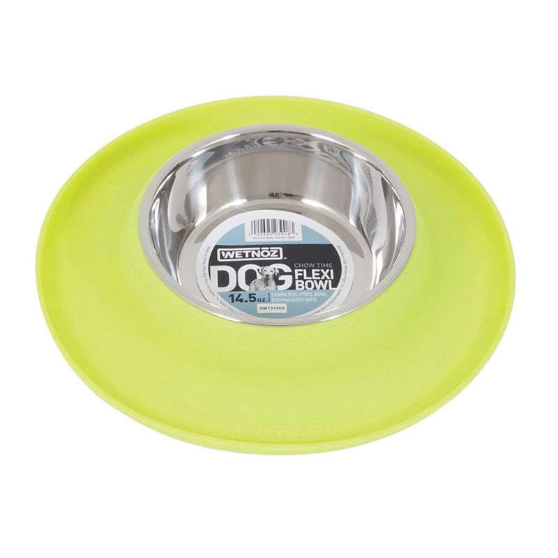 Green Pear Wetnoz Flexi Bowl - 7 ounces
