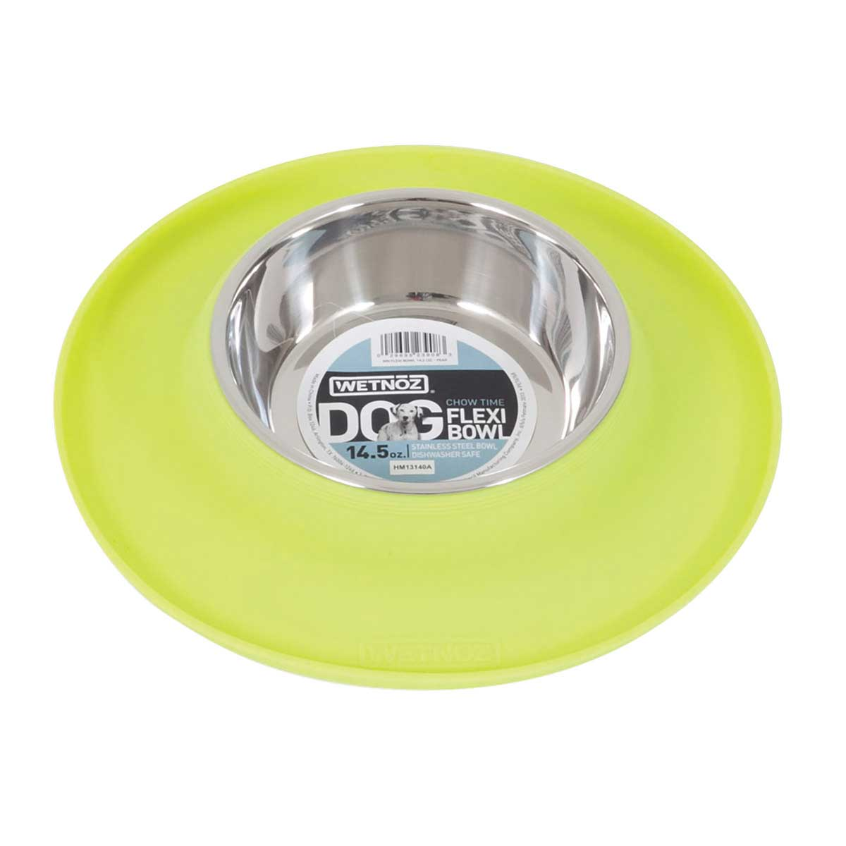 Wetnoz Flexi Bowl 14.5 ounces - Pear Green