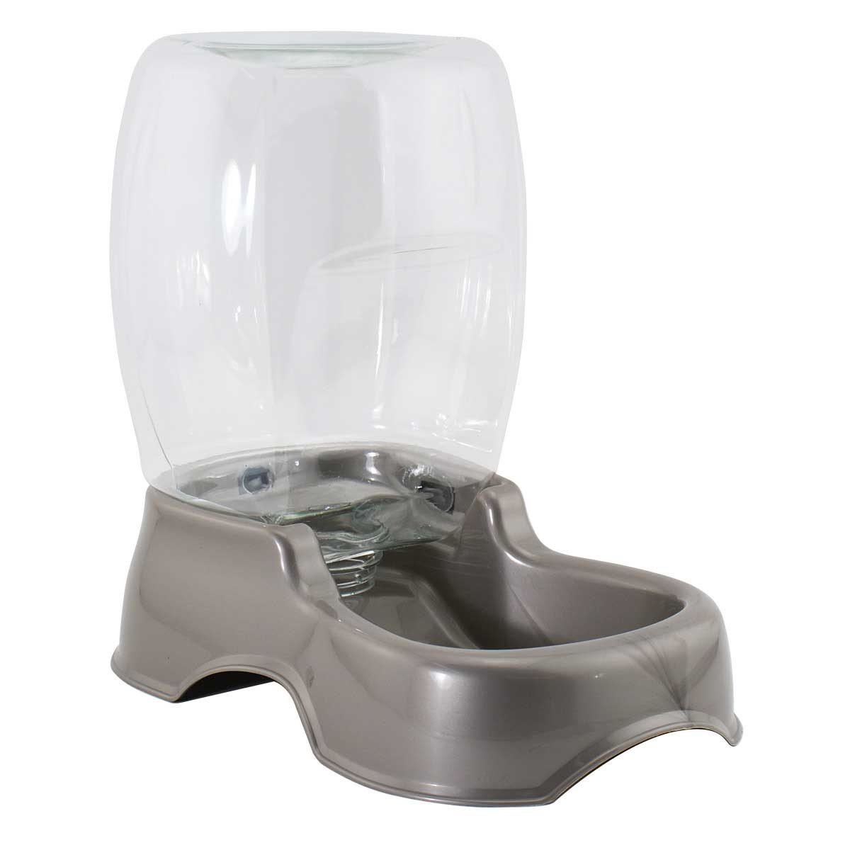 Pearl Tan Petmate Pet Cafe Waterer - 1.5 Gallon