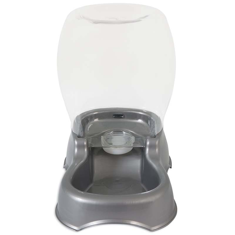 Pearl White Petmate Pet Cafe Waterer for Dogs and Cats - 1.5 Gallon