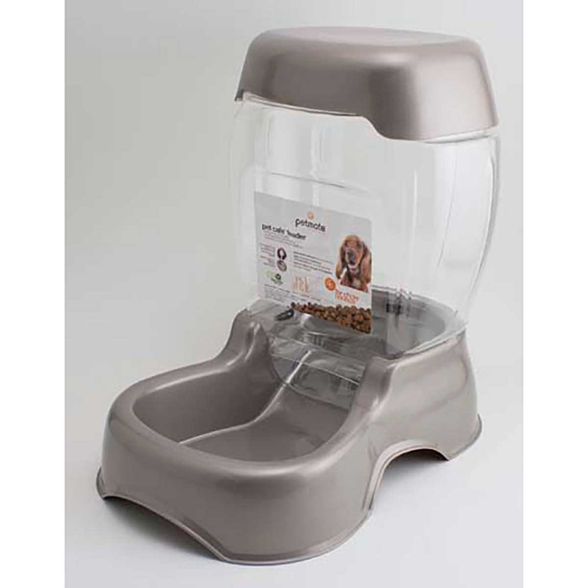 Pearl Tan Petmate Pet Cafe 6 lb Feeder for Large Pets