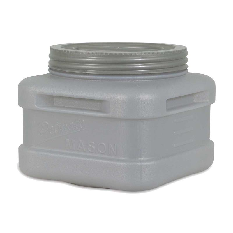 Petmate Food Storage Mason Jar Holds 20 Lbs