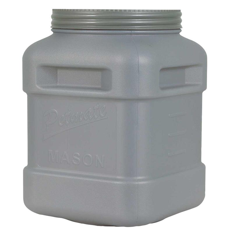 Petmate Food Storage Mason Jar Holds up to 35 pounds of Kibble