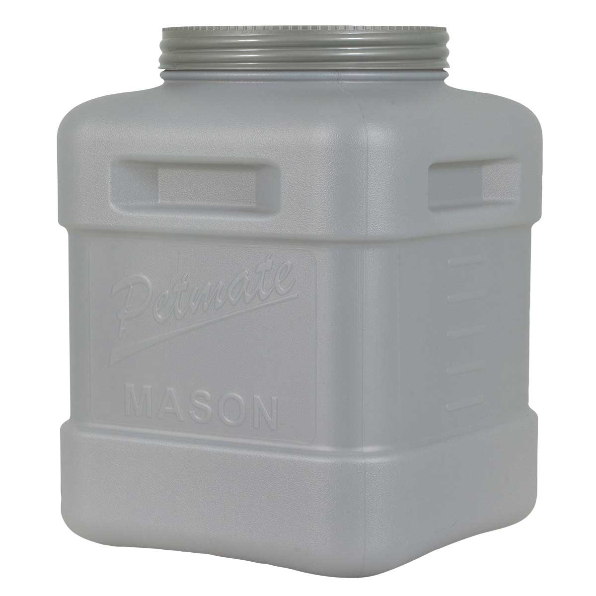 Petmate Food Storage Mason Jar Holds 50 pounds of Kibble - Keeps Dry Dog Food Fresh
