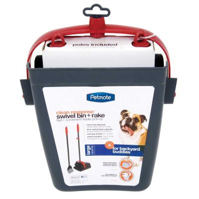 Petmate Clean Response Swivel Bin in Packaging