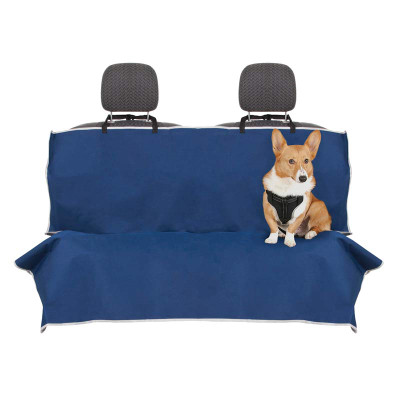 Blue Petmate Basic Bench Seat Cover - 64 inches by 48 inches