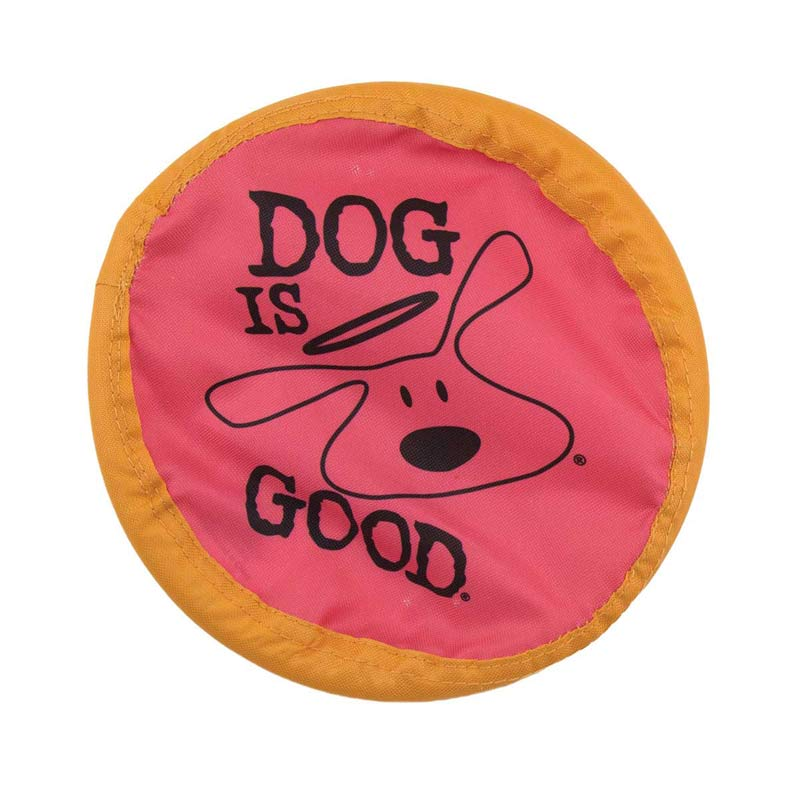 Dog is Good Flyer 8 inch - for Fetch with Dogs