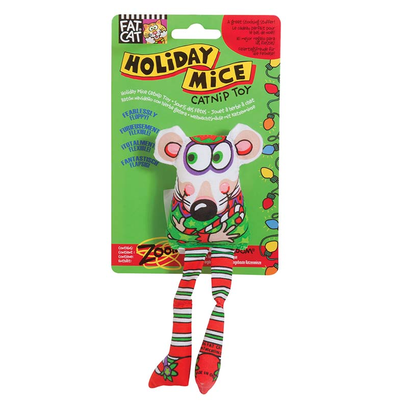 Elf Fat Cat Holiday Mice Cat Toys at Ryan's Pet Supplies