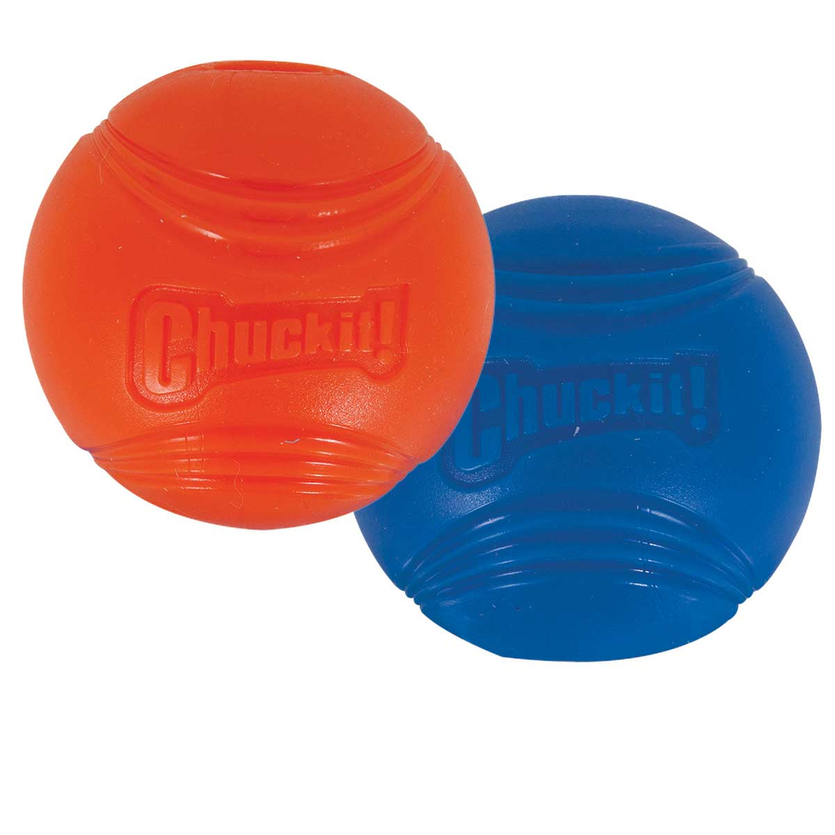 2 Pack Chuckit! Strato Ball Size Small - For Small Dogs and Puppies