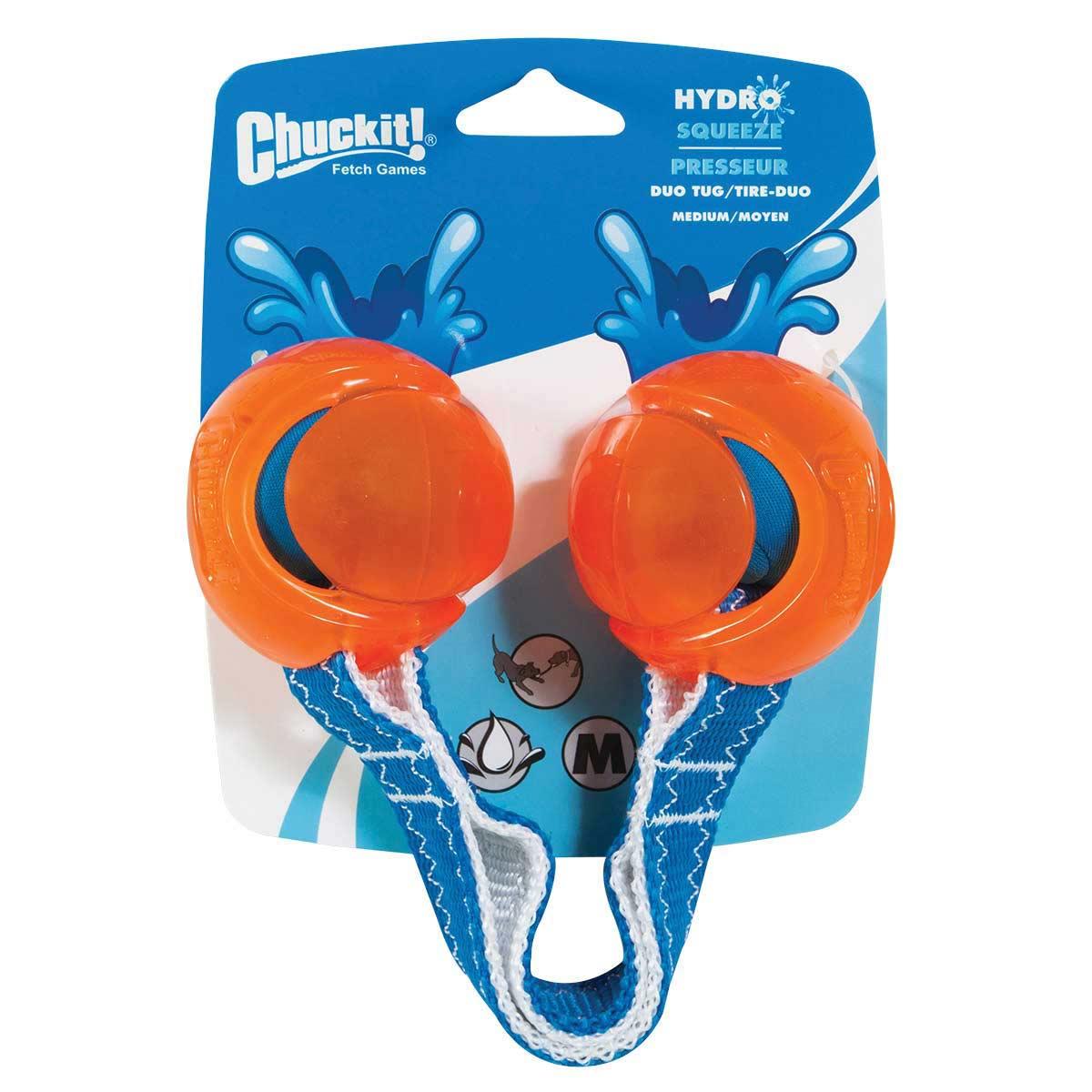 Chuckit! Hydrosqueeze Duo Tug Medium Size
