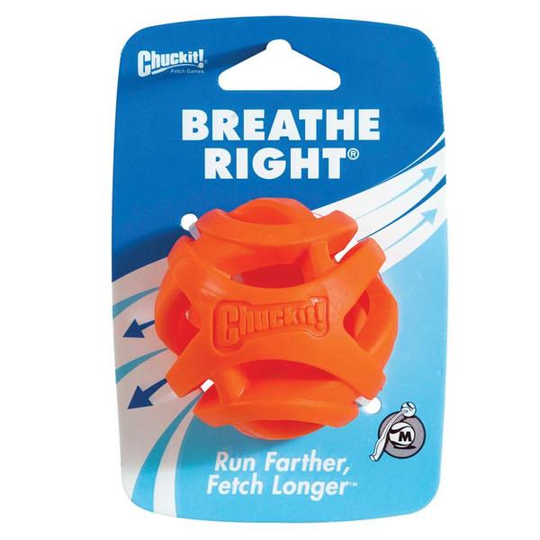 Petmate Chuck It! Breath Right Fetch Ball Medium in Packaging