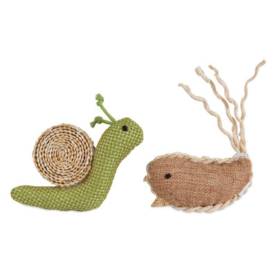 Petmate Jackson Galaxy Snail & Narwhal Toy Multipack - Toys for Cats