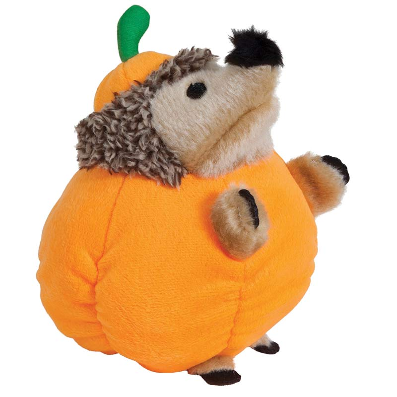 Petmate Fall Heggie - Pumpkin Dog Toy