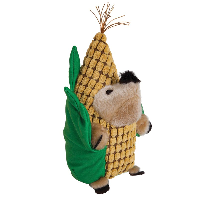 Petmate Fall Heggie - Corn Dog Toy - Medium and Large Dogs