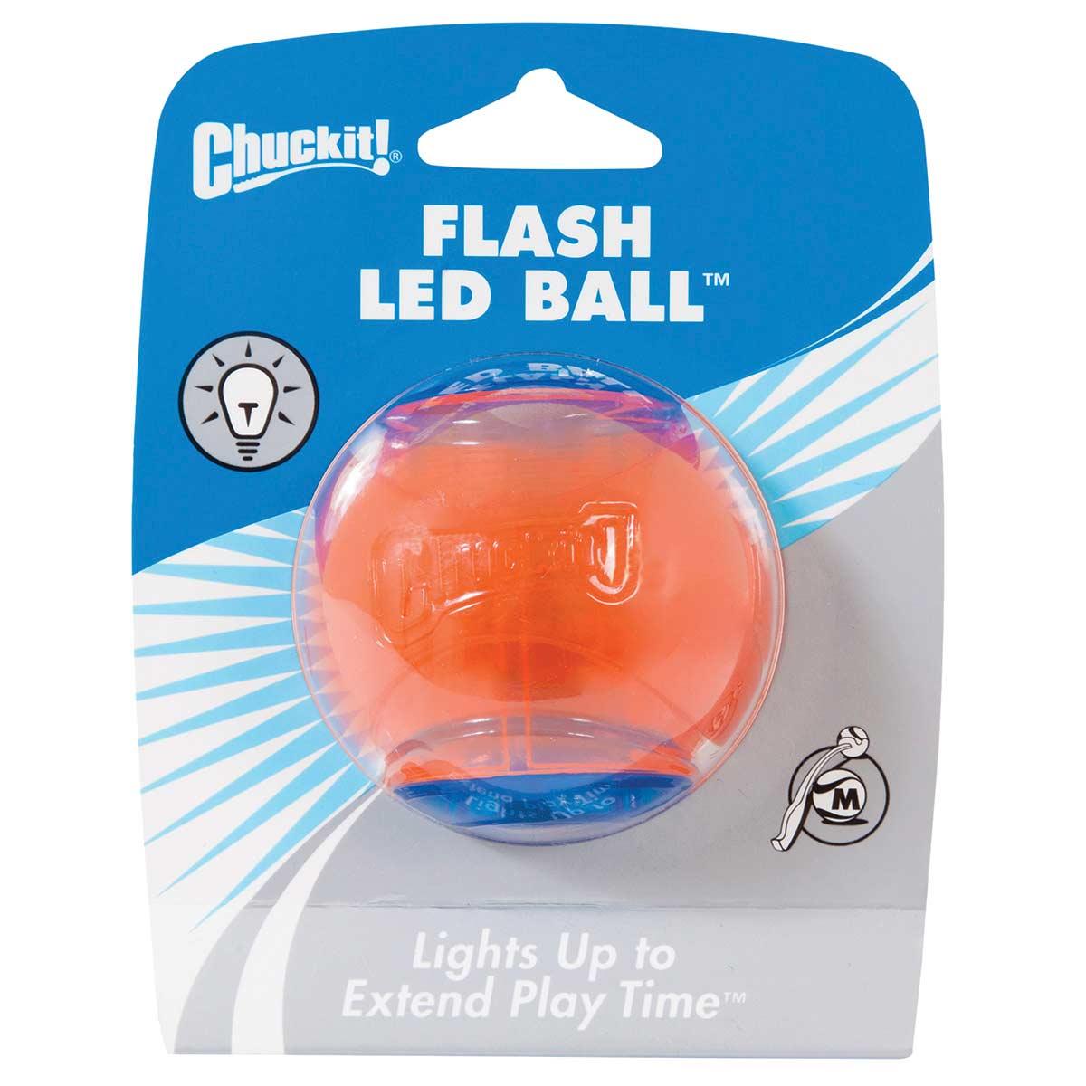Medium Chuckit! Strobe LED Ball