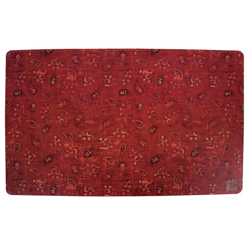 MuttNation Red Bandana Plastic Food Mat