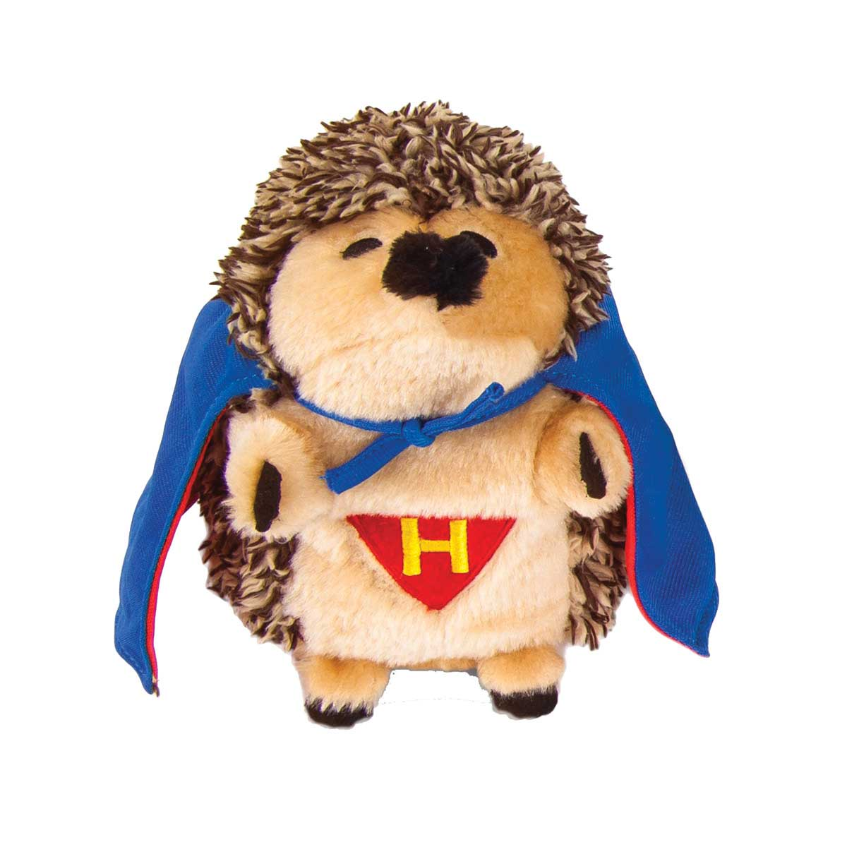 Petmate Stuffed Heggie Super Hero Dog Toy